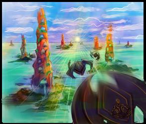 The Homeworld 02 by FlyingCarpets