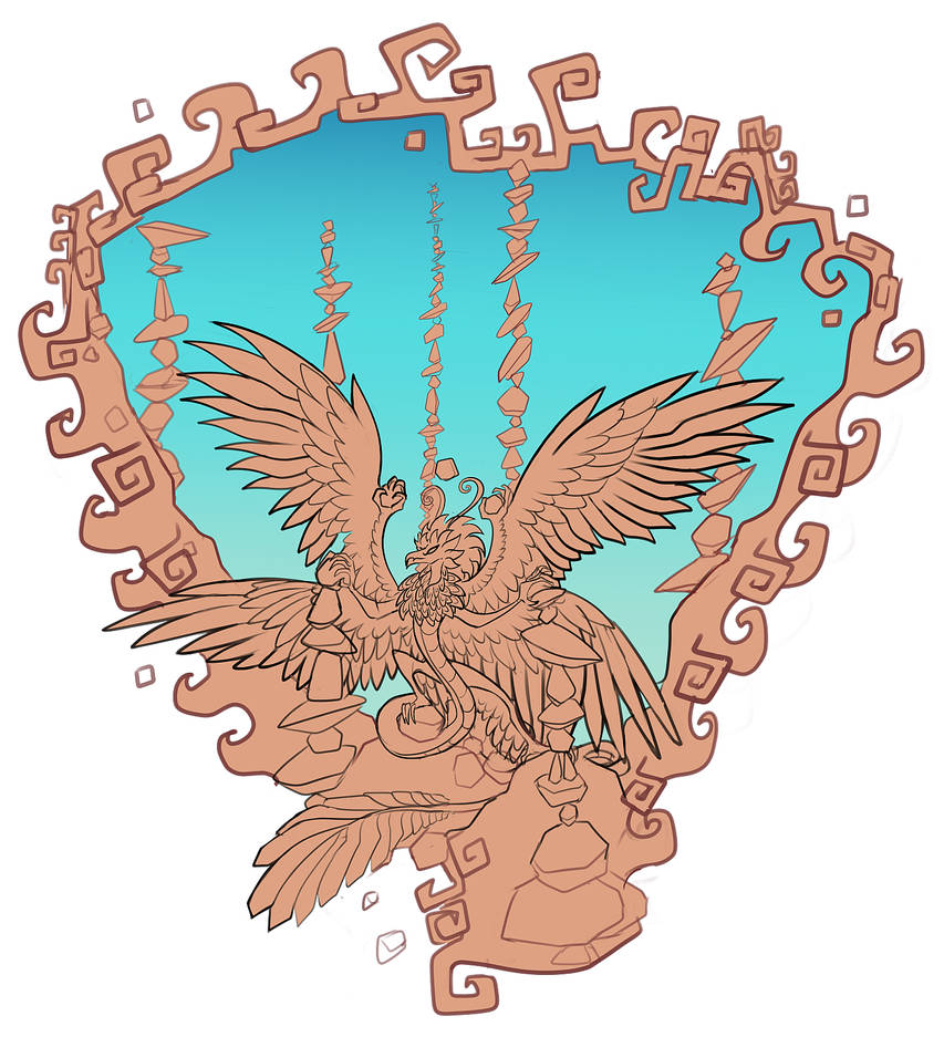 Quetzi wip by FlyingCarpets