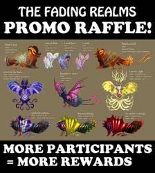 [CLOSED] Promo Raffle - The Fading Realms Adopts! by FlyingCarpets
