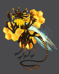 [OPEN - Auction] Rat Queen/King of the Hive by FlyingCarpets