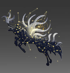 [OPEN - Auction] Adopt - Tainted Starwolf by FlyingCarpets