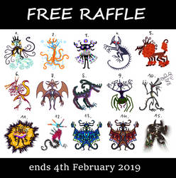 [OPEN] Adopt Raffle! by FlyingCarpets