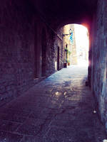 Tuscan Alley 2 - Volterra by cattycass