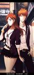 Bleach_Ichigo Orihime : I wanna hold your hand by MimiSempai