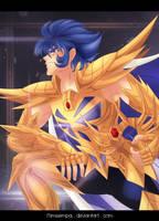 Saint Seiya Gold Knight : Cancer Deathmask by MimiSempai