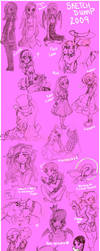 SketchDump 2009 by ZOE-Productions