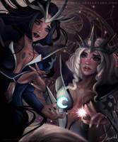 Dark and Light - Sakura card captor by joacoful
