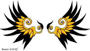 Graphics: Wing Design by saiyanbutterfly