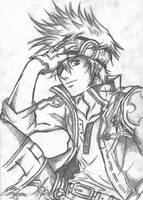 - Lavi - Rough Sketch - by TheLupin
