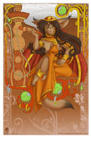 Hookah Girl by avencri