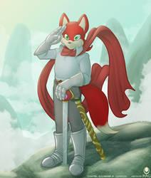 Swordfox by avencri