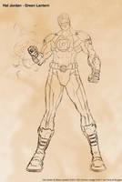 Hal Jordan - Green Lantern by Kougen