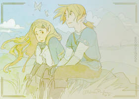 The quiet boy and the princess by DarkSunRose