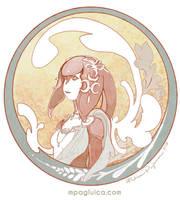 The Graceful Mipha by DarkSunRose