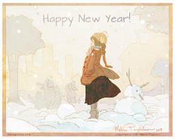 Happy New Year! by DarkSunRose