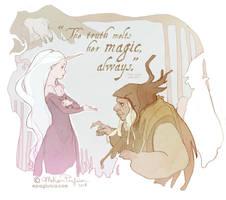 Truth Melts - The last Unicorn by DarkSunRose
