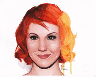 Hayley Williams by PitchBlack-Ixhieen