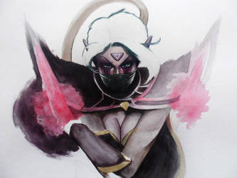 Templar Assassin by PitchBlack-Ixhieen