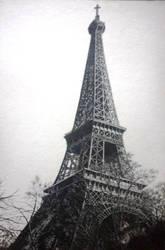Eiffel Tower (Pointillism) FINAL by PitchBlack-Ixhieen