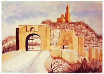 Tsarevets - Veliko Tarnovo by Eleven8Eighty3
