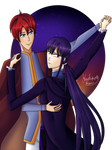 Alexander and Estelle by HoshikoxHikari