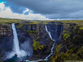Haifoss Valley by macrodger
