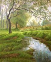 Brook by AnatolyPanagonovART