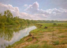 A Midsummer Day by AnatolyPanagonovART