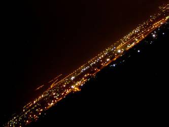 Izmir at night by arianbulur
