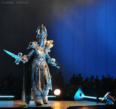 The Lich King cosplay by FinstereFrau