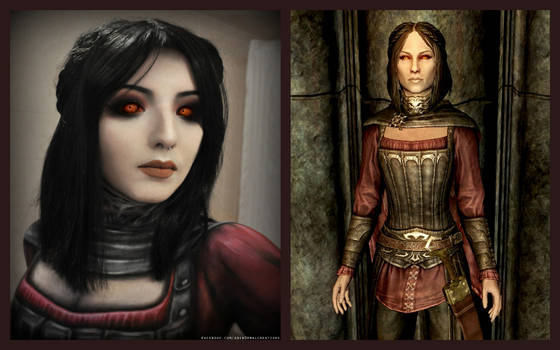 Serana Makeup by FinstereFrau