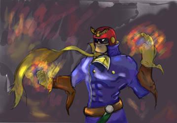Captain Falcon by RandomFlyingBananas