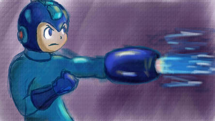 Mega Man by RandomFlyingBananas