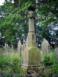 Monument in St Catherine's Cemetery, Barton by liverecs