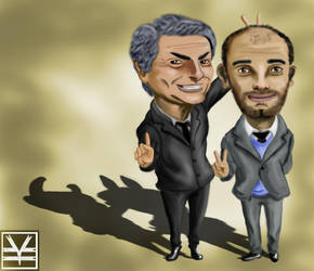 Mourinho VS Guardiola by Joouheika