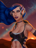 Black Widow Headphones by 315lVl4-J