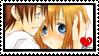 Keiichi X Rena stamp by Monkey-Girl146