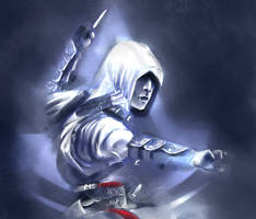 Altair - Assassin's Creed by HaitiKage