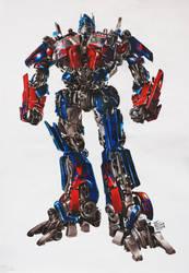 Transformers : Optimus Prime by JamesBaxter