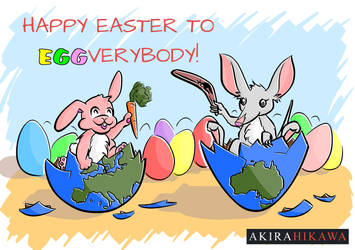 Easter Contest! by AkiraHikawa