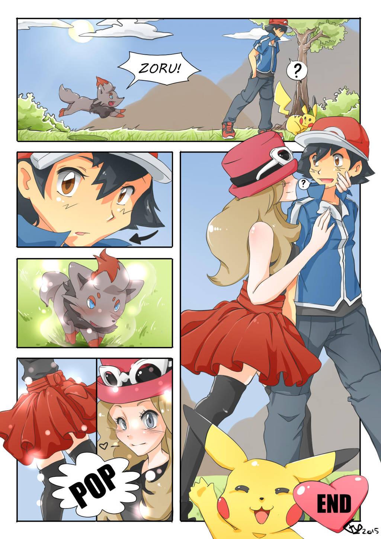 Ash X Serena Tegneserie