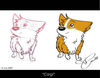 Corgi-WIP by TAoVEZ