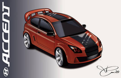Hyundai Accent SR .revisited. by TAoVEZ