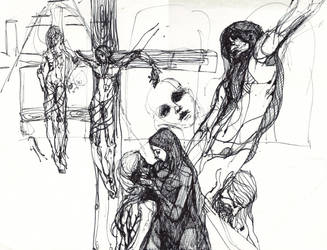 stations of the cross by stolenartist