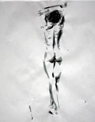 January Ink Figure by hEyJude4