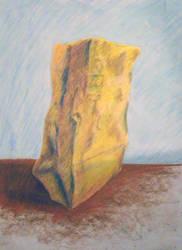 Paper Bag Still Life by hEyJude4