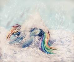Rainbow crash by Ferasor