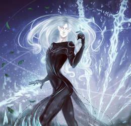 Ice blades dance by ErzYoroy