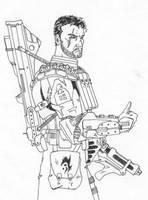 ARC Trooper- ready for battle by Kuk-Man