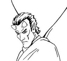 Close-up of Lucifer by Kuk-Man